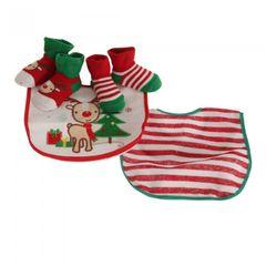 Nursery Time Baby Jungen/Mädchen Rudolph das Rentier Weihnachts Geschenkset