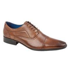 Route 21 Herren Oxford-Schuhe mit 5 Ösen pro Seite