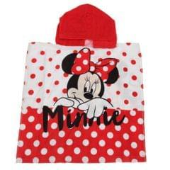 Disney Kinder Handtuch-Poncho mit Minnie-Maus-Design