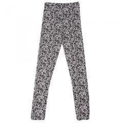 Sous-pantalon thermique à motif floral - Fille