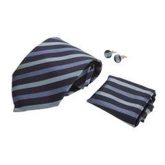Pierre Roche - Coffret cravate, bouton de manchette et pochette