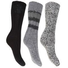 FLOSO - Chaussettes thermiques épaisses (lot de 3 paires) - Femme
