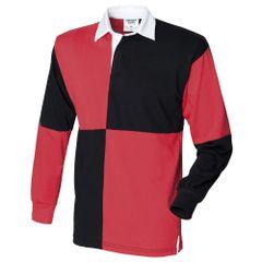 Front Row - Polo de rugby à manches longues 100% coton - Homme