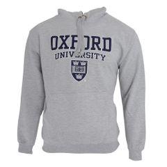 Sweatshirt à capuche imprimé Oxford University - Homme