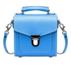 Zatchels Damen Handgefertigte Leder Sugarcube  Handtasche (British Made)