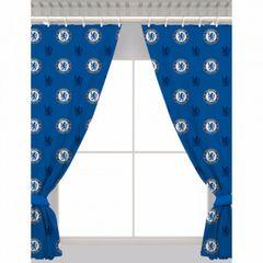 Chelsea Fc Repeat Club Wappen Vorhang