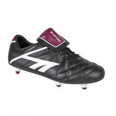 Hi-Tech League Pro - Chaussures de football ou rugby à crampons vissés - Garçon