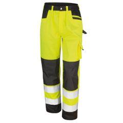 Result Safeguard - Pantalon cargo haute visibilité - Adulte unisexe