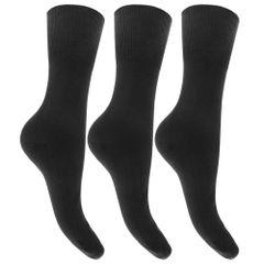 Chaussettes à haut non-élastiqué (lot de 3) - Femme