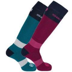 Salomon Unisex Allround-Socken, 2er-Paar