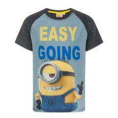 Despicable Me Kinder/Jungen Easy Going Minion T-Shirt