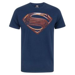 Justice League Herren Superman Logo T-Shirt