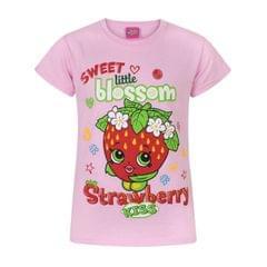 Shopkins Kinder/Mädchen Strawberry Kiss Sweet Blossom T-Shirt