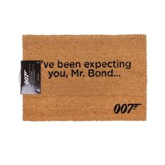 James Bond offizielle Ive Been Expecting You Türmatte