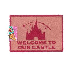 Disney offizielle Welcome To Our Castle Tür Matte