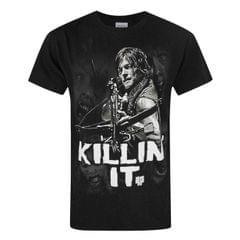 The Walking Dead offizielles Herren Daryl Killin It T-Shirt