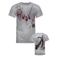 The Walking Dead offizielles Herren Daryl Dixon Handabdruck T-Shirt