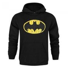 Batman Herren Distress Logo Kapuzenpullover