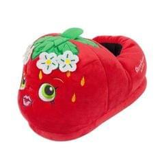 Shopkins Damen Erdbeer-3D-Hausschuhe