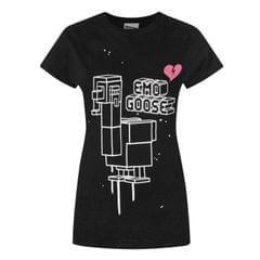 Crossy Road Damen Emo Goose T-Shirt