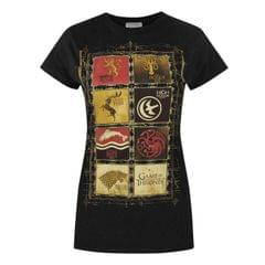Game Of Thrones Damen T-Shirt mit Wappen-Design