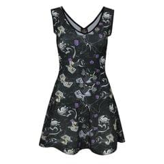 Nightmare Before Christmas Damen Kleid mit Vampir-Teddy-Muster