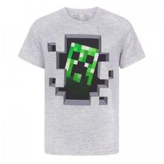 Minecraft Kinder Creeper Inside T-Shirt