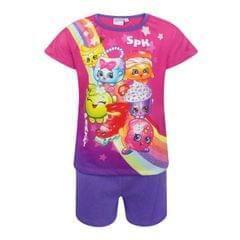 Shopkins Kinder/Mädchen Pyjama, Kurz