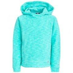 Trespass Kinder / Mädchen Fleece-Kapuzenpullover Moonflow