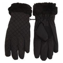 Tom Franks Damen Stepp-Handschuhe mit Kunstfell