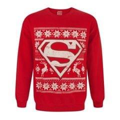 DC Comics Superman Weihnachtspullover