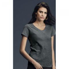 Anvil Damen T-Shirt mit V-Ausschnitt