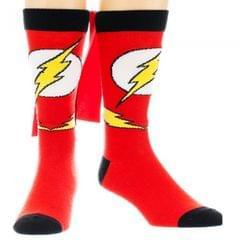 DC Comics Herren Flash-Socken mit Cape
