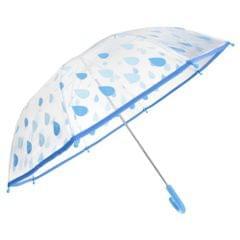 Drizzles Kinder Regenschirm mit Regentropfen-Design