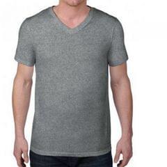 Anvil Herren T-Shirt mit V-Ausschnitt, leichtes Material