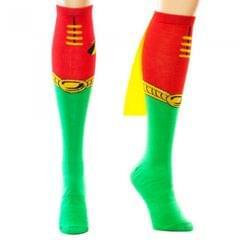 DC Comics Herren Robin-Socken mit Cape