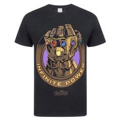 Marvel Avengers Infinity War Herren T-Shirt mit Kampfhandschuh