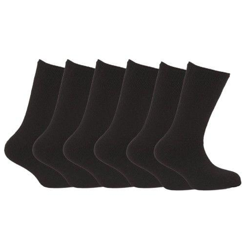 FLOSO Launch SALE Mens Best Quality Multipack 1.9 Tog Thermal Socks (Pack Of 6)
