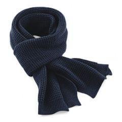 Beechfield Unisex Classic Waffle Knit Winter Scarf