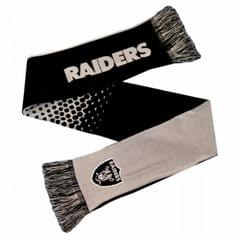 Oakland Raiders Official NFL Fade Crest Design Scarf