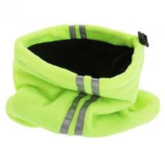 Unisex Hi Vis Fleece Neckwarmer Snood With 3M Scotchlite Banding