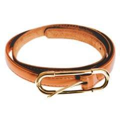 Grace Womens/Ladies Thin Leather Belt