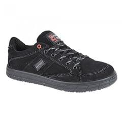 Grafters Mens Skate Type Toe Cap Safety Sneakers