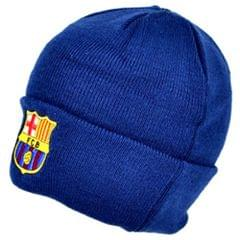 FC Barcelona Official Knitted Winter Soccer/Football Crest Beanie Hat
