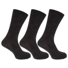Pierre Roche Mens Comfort Fit Non Elastic Top Diabetic Socks (Pack Of 3)