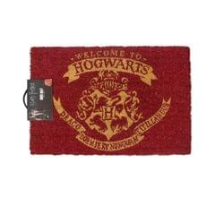 Harry Potter Official Welcome To Hogwarts Door Mat