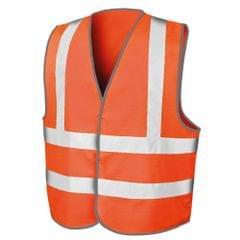 Result Mens Core Safety Hi Viz Vest
