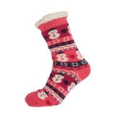Aler Womens/Ladies Thermal Snowman Design Co-Zees Slippers (1 Pair)