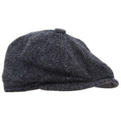 Mens 8 Panel Wool Blend Newsboy Cap