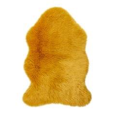Flair Rugs Faux Fur Sheepskin Shaped Deep Rug